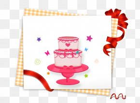 Birthday Cake - Paper Gift Download PNG