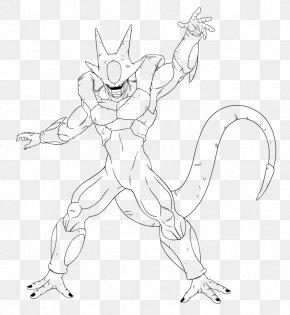 Goku - Goku Cooler Line Art Drawing YouTube PNG