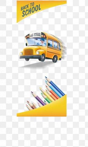 School Bus Back To School - School Bus PNG