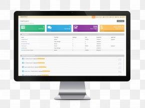 Imac - Web Development Dashboard User Interface Design Web Design PNG