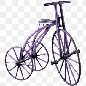 Vintage Bicycle Tricycle European Perspective - Bicycle Frame Tricycle Bicycle Saddle Racing Bicycle PNG