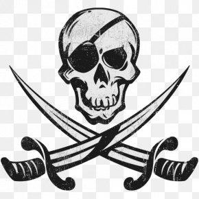 Pirate Collection Design - Piracy Logo Jolly Roger Vought F4U Corsair Grumman F4F Wildcat PNG