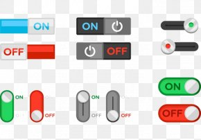 Touch Button Switch Button - Switch Push-button Icon PNG