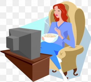 Watching Tv - Television Show Cartoon Clip Art PNG