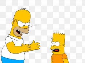 Bart Simpson - Bart Simpson Homer Simpson Lisa Simpson Marge Simpson Grampa Simpson PNG