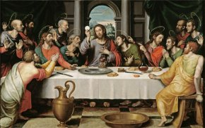 Last Supper Cliparts - Eucharist Last Supper Christianity Mass Catholic Church PNG
