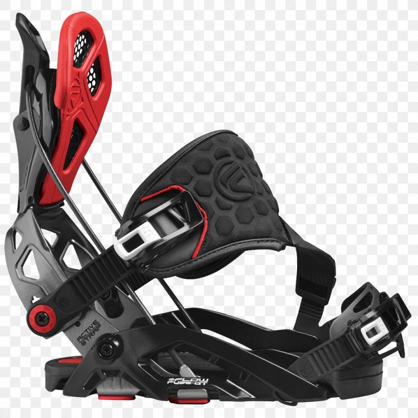 Fuse Black Snowboardbindung Flow 2019