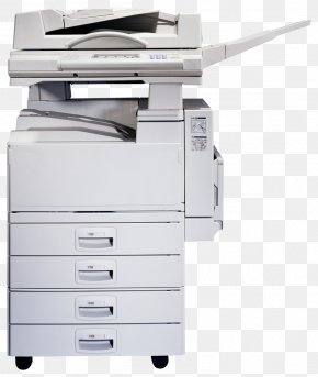 Printer - Printer Photocopier T-shirt Printing Ricoh PNG