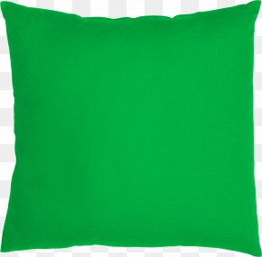 Pillow - Throw Pillow Cushion IKEA Green PNG