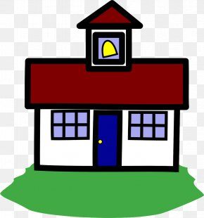 Building Real Estate - Clip Art House Line Home Real Estate PNG