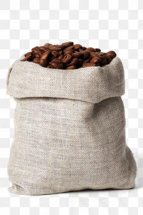 Bags Of Coffee Beans Close-up - Coffee Bean Gunny Sack Bag Kopi Luwak PNG