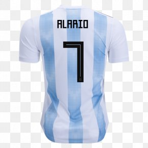 Argentina National Team - 2018 World Cup Argentina National Football Team England Soccer Jersey T-shirt PNG