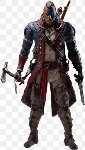 McFarlane Toys - Assassin's Creed III Ezio Auditore Assassin's Creed Syndicate Assassin's Creed: Brotherhood PNG