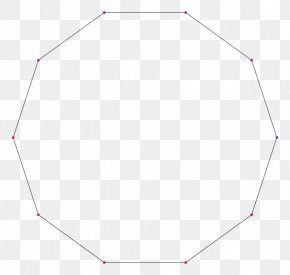 Polygon - Regular Polygon Wikipedia Decagon Decagram Triangle PNG