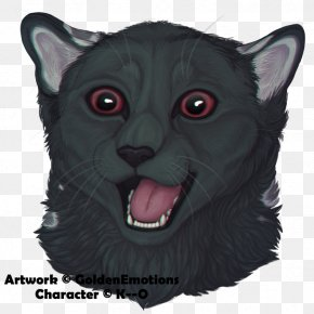 Oh My God - Whiskers Korat Fur Snout Character PNG