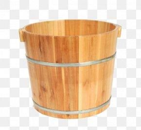 Wooden Bucket - Bucket Barrel Wood PNG