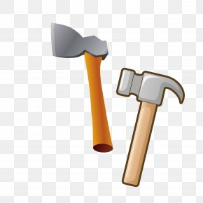 Hammer Decoration Tool Decoration - Tool Hatchet Hammer PNG