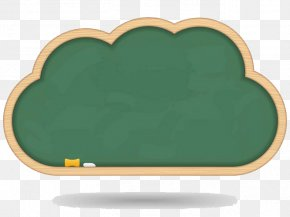 Green Chalkboard - Blackboard Drawing Icon PNG