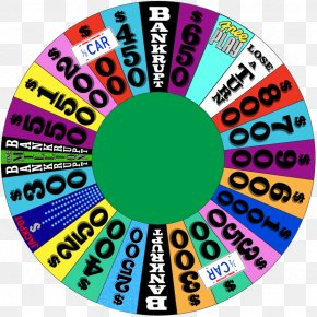 Wheel Of Fortune - Game Show Television Show PNG