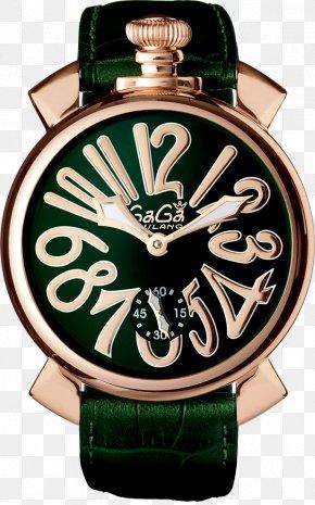 Watch - GaGà Milano Watch Clock Shop Swiss Made PNG