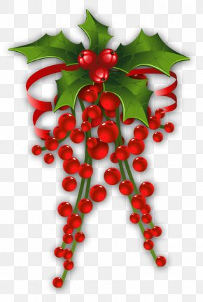 Mistletoe Cliparts Transparent - Mistletoe Christmas Common Holly Clip Art PNG