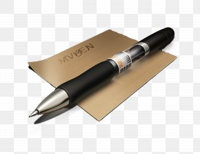 Pen And Paper - Paper Ballpoint Pen PNG