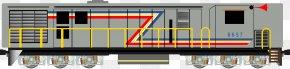 Train - Train Passenger Car Railroad Car Locomotive Keretapi Tanah Melayu PNG