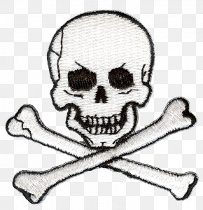 Embroidery - United States Jolly Roger Piracy Coloring Book Ausmalbild PNG