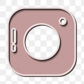 Pink Logo Icon - Camera Icon Instagram Icon Instagram Logo Icon PNG