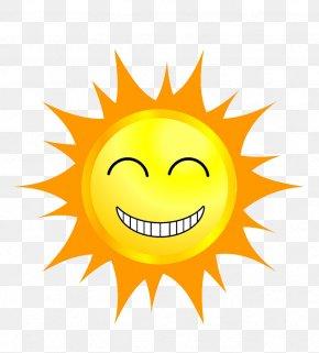 Summer Sun - Cartoon Speech Balloon PNG