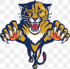Panther Cliparts Writing - The Florida Panthers National Hockey League Sunrise Ice Hockey PNG