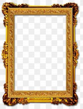 Gold Frame - Picture Frame Gold Frame PNG