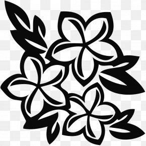 Tropical Line Cliparts - Hawaii Drawing Flower Clip Art PNG