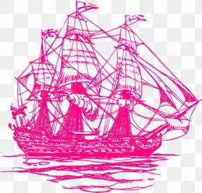 Raspberry - Sailing Ship Sailboat Maritime Transport PNG
