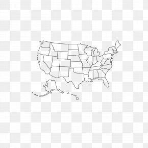 Starter Edition United States Map - United States Map Clip Art PNG