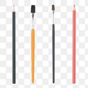 Makeup Brushes - Makeup Brush Ink Brush PNG