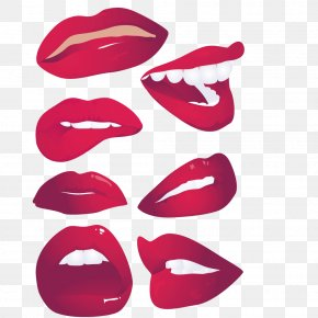 Big Collection Vector Lips - Mouth Lip Smile Royalty-free PNG