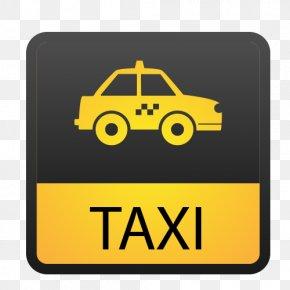 Yellow Taxi Vector Icon - Lagos Car Toyota Land Cruiser Toyota Avalon PNG