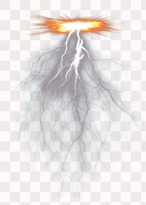 Lightning - Lightning Thunder Icon PNG