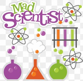 Science Word Cliparts - Mad Scientist Science Clip Art PNG