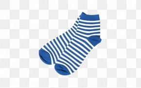 Blue Socks - Sock Hosiery Shoe Size Clothing PNG