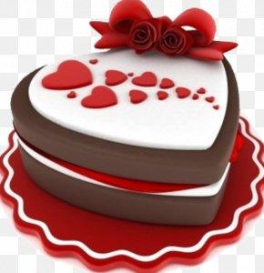Chocolate Cake - Chocolate Cake Bakery Cupcake Valentine's Day PNG