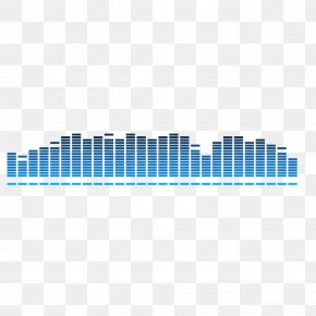 Blue Sonic Vector Material - Blue Sonic The Hedgehog Sound Wave Euclidean Vector PNG