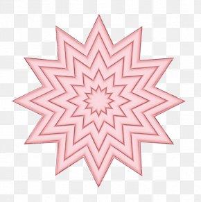 Kaleidoscope Visual Arts - Pink Pattern Symmetry Line Visual Arts PNG