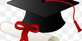 Cap - Square Academic Cap Graduation Ceremony Diploma Jackson Liberty High School Clip Art PNG