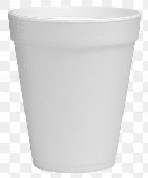 Plastic Cup - Lid Plastic Flowerpot Cup White PNG