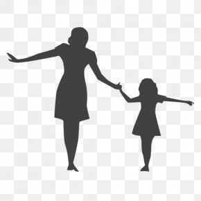 Mother's Day - Silhouette Child Mother Woman Photography PNG