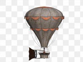 Steam Hot-air Balloon - Airplane Hot Air Balloon Clip Art PNG