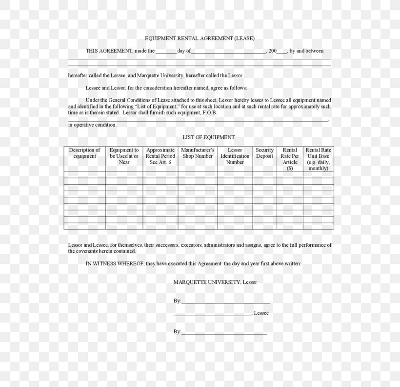 Lease To Purchase Agreement Template from img.favpng.com