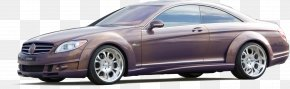 Car - Sports Car Mercedes-Benz CL-Class PNG